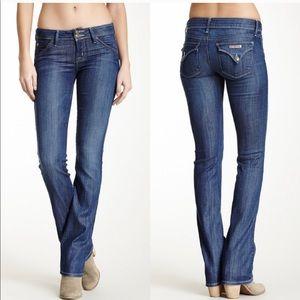 Hudson Dark Wash Signature Bootcut Jeans Size 32